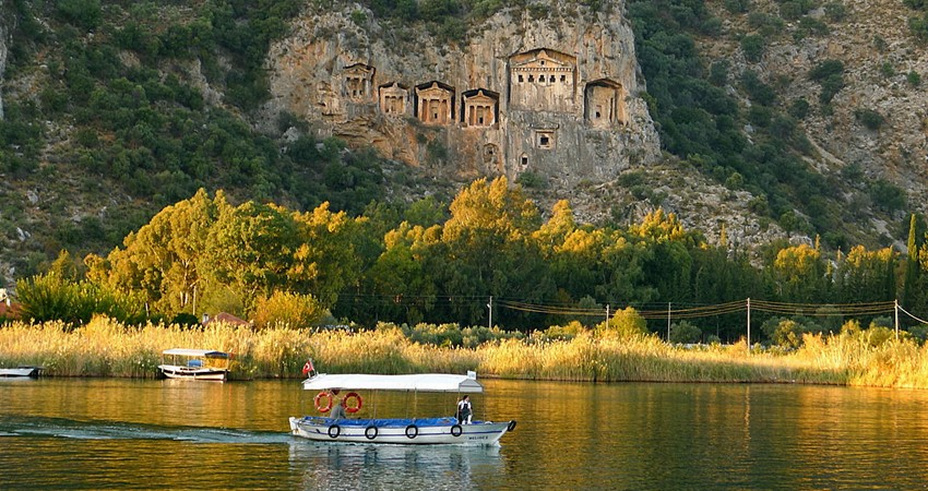 Ancient Tombs in Dalyan