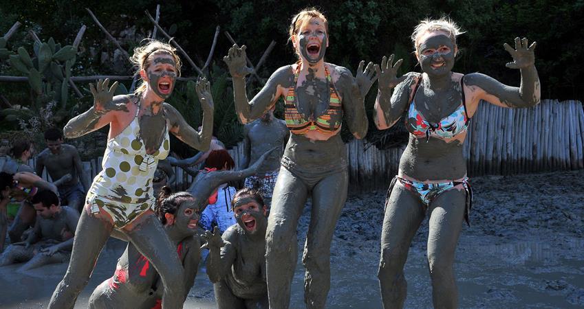 Mud Baths in Dalyan
