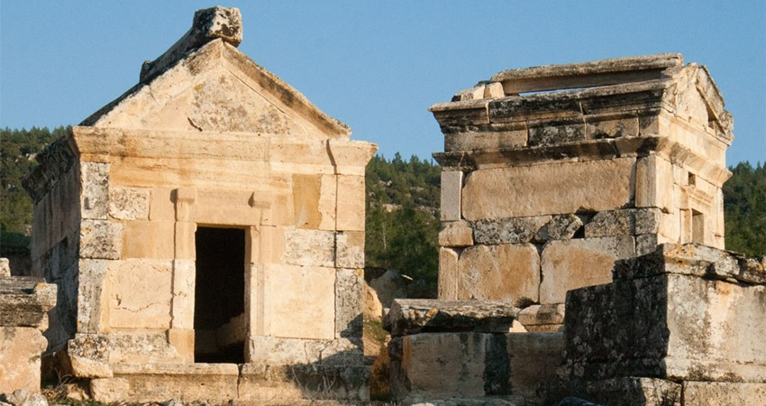 Necropolis The City Of Dead Marmaris Travel