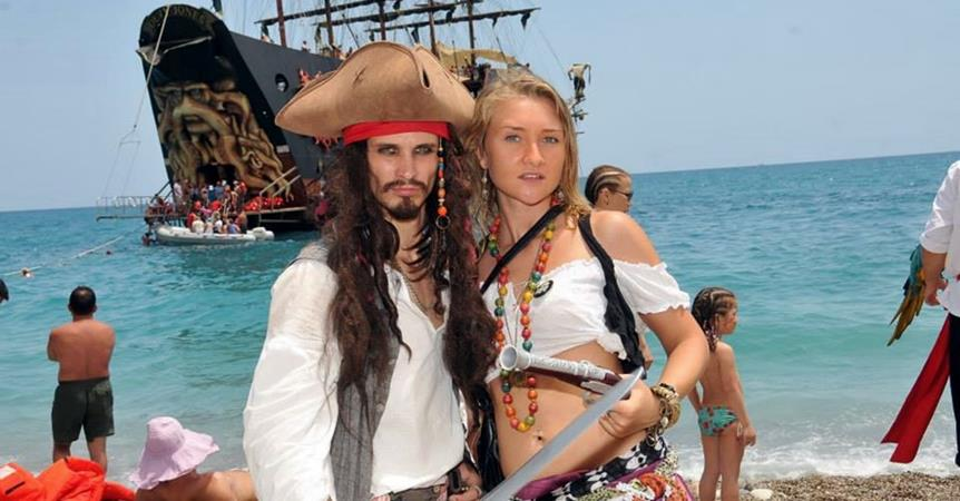 Barbossa Pirate Boat Trip